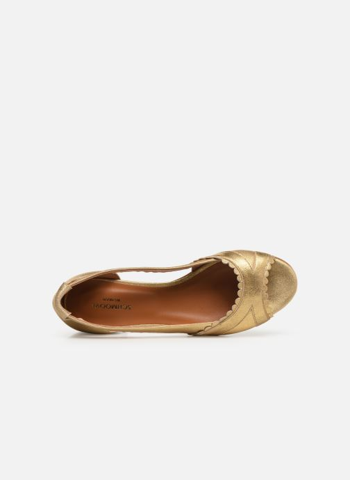 Ballerinas Schmoove Woman Retro Pump gold/bronze ansicht von links