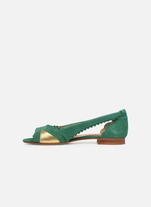 Ballet pumps Schmoove Woman Retro Pump Green front view