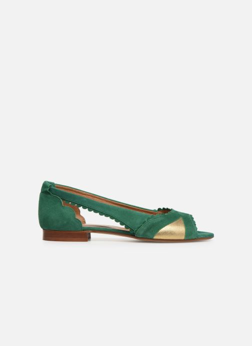Ballet pumps Schmoove Woman Retro Pump Green back view