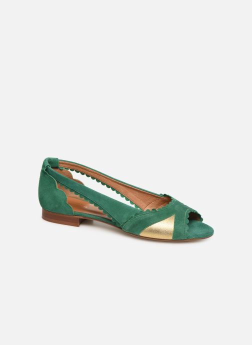 Ballet pumps Schmoove Woman Retro Pump Green detailed view/ Pair view
