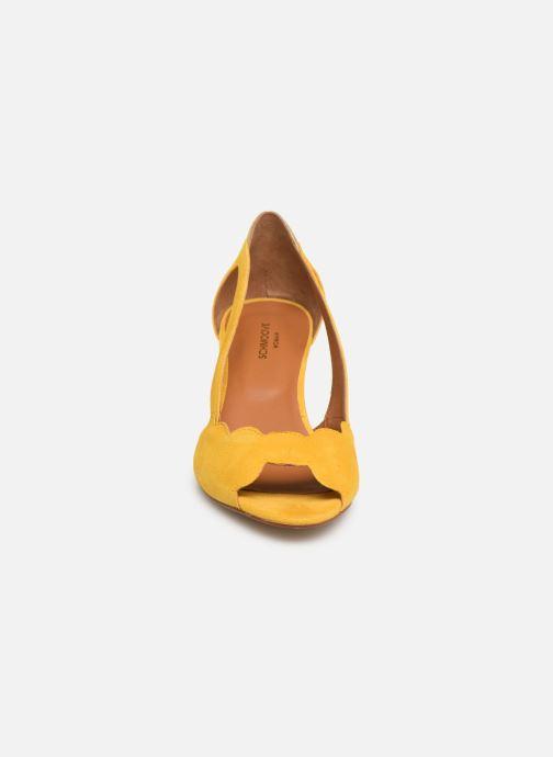 High heels Schmoove Woman Circus Pump Yellow model view