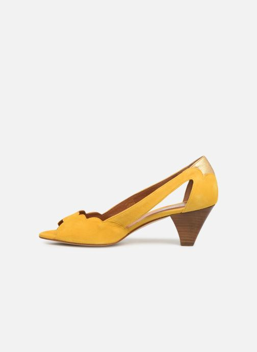 High heels Schmoove Woman Circus Pump Yellow front view