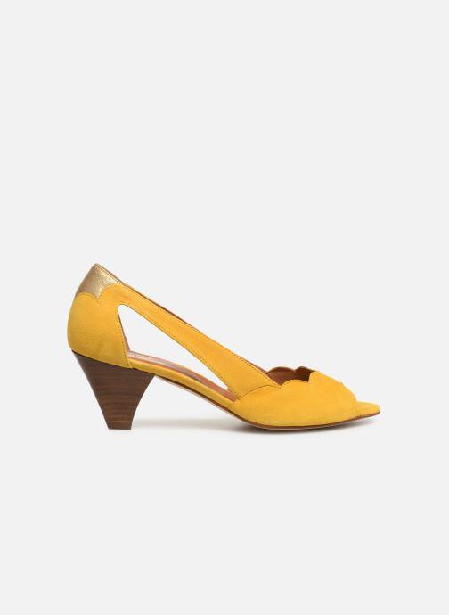 High heels Schmoove Woman Circus Pump Yellow back view