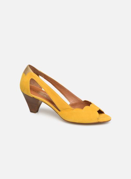 High heels Schmoove Woman Circus Pump Yellow detailed view/ Pair view
