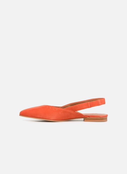 Ballerines Schmoove Woman Eva Pump Orange vue face