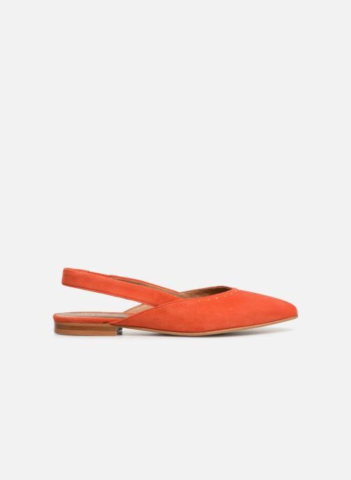 Ballerines Schmoove Woman Eva Pump Orange vue derrière