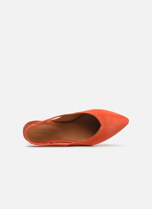 Ballerinaer Schmoove Woman Eva Pump Orange se fra venstre