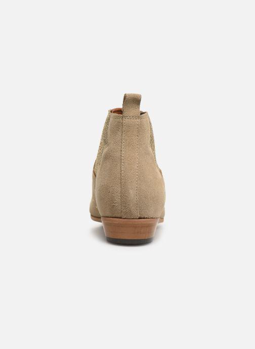 Bottines et boots Schmoove Woman Peckham Chelsea Beige vue droite