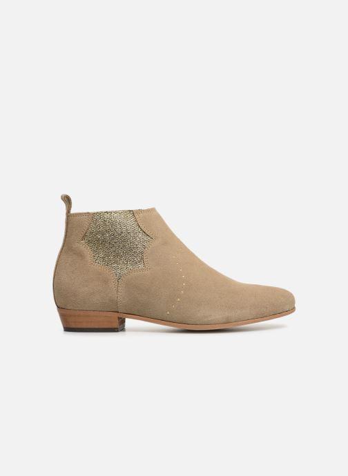 Bottines et boots Schmoove Woman Peckham Chelsea Beige vue derrière