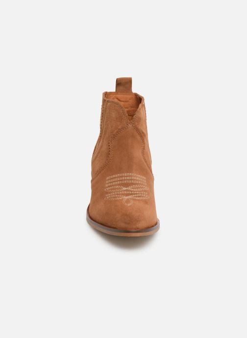Bottines et boots Schmoove Woman Polly Boots Marron vue portées chaussures
