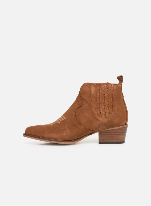 Bottines et boots Schmoove Woman Polly Boots Marron vue face