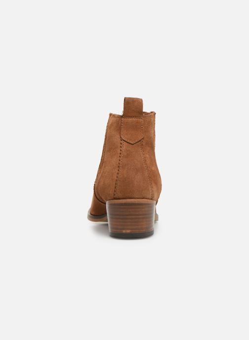 Bottines et boots Schmoove Woman Polly Boots Marron vue droite