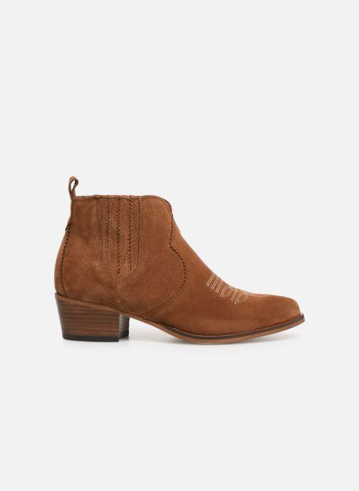 Bottines et boots Schmoove Woman Polly Boots Marron vue derrière
