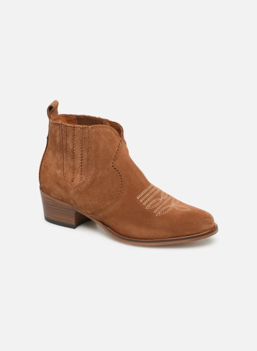 Bottines et boots Schmoove Woman Polly Boots Marron vue détail/paire