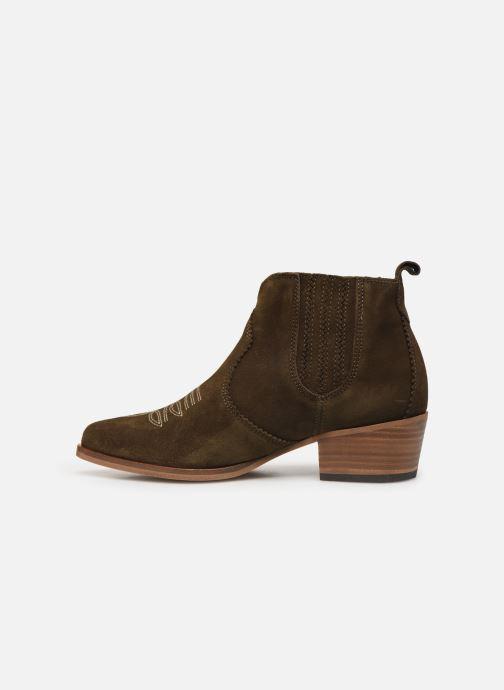 Bottines et boots Schmoove Woman Polly Boots Vert vue face