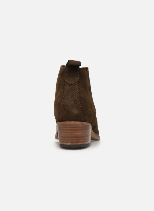 Bottines et boots Schmoove Woman Polly Boots Vert vue droite