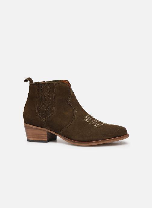 Bottines et boots Schmoove Woman Polly Boots Vert vue derrière