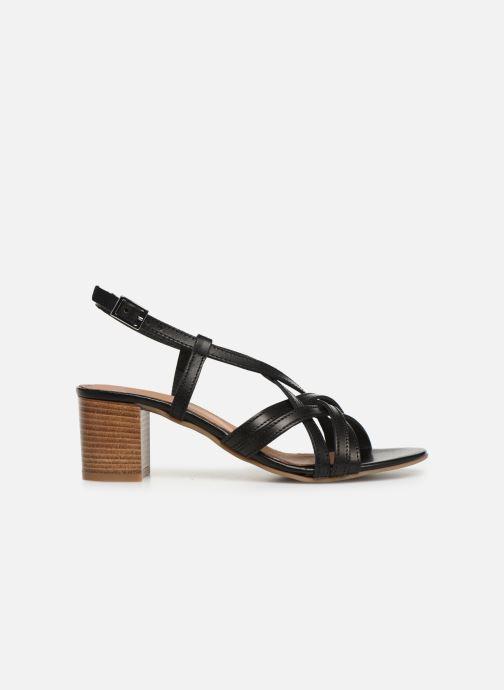 Sandales et nu-pieds Georgia Rose Lucija Noir vue derrière