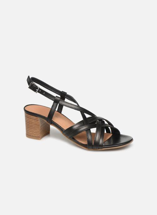 Sandales et nu-pieds Georgia Rose Lucija Noir vue détail/paire