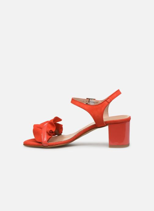 Sandales et nu-pieds Georgia Rose Luwagua Rouge vue face