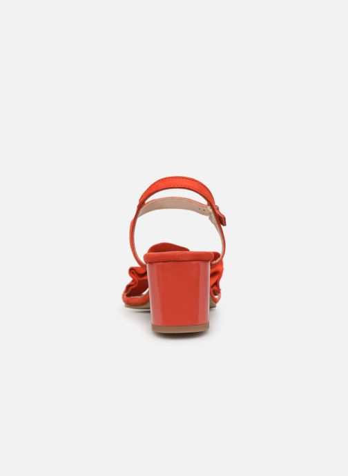 Sandali e scarpe aperte Georgia Rose Luwagua Rosso immagine destra