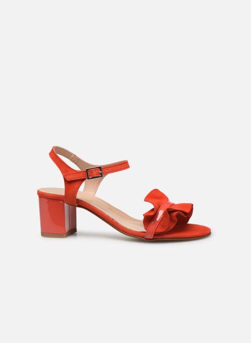 Sandales et nu-pieds Georgia Rose Luwagua Rouge vue derrière