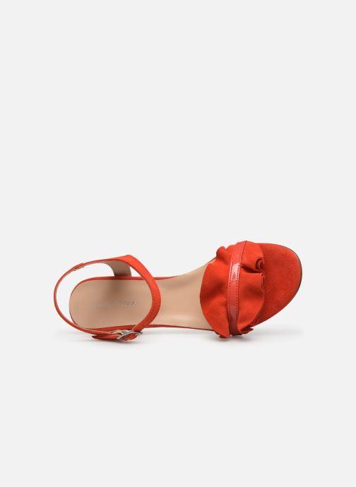Sandales et nu-pieds Georgia Rose Luwagua Rouge vue gauche