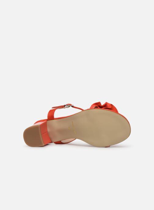 Sandales et nu-pieds Georgia Rose Luwagua Rouge vue haut