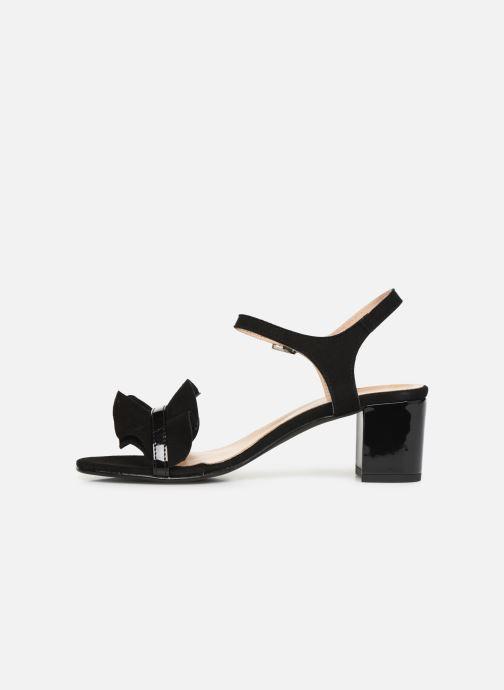 Sandales et nu-pieds Georgia Rose Luwagua Noir vue face