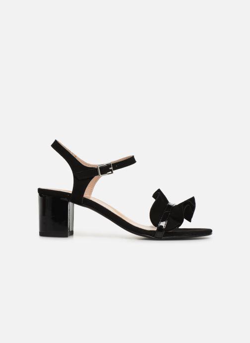 Sandales et nu-pieds Georgia Rose Luwagua Noir vue derrière