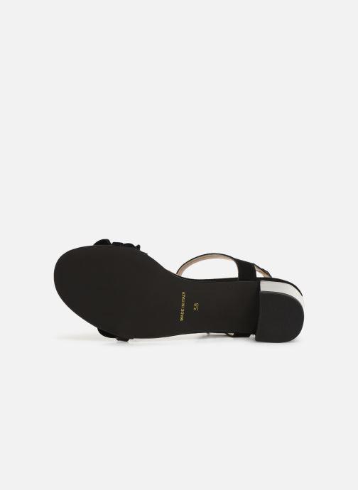 Sandales et nu-pieds Georgia Rose Luwagua Noir vue haut