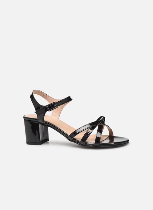 Sandales et nu-pieds Georgia Rose Linedia Noir vue derrière
