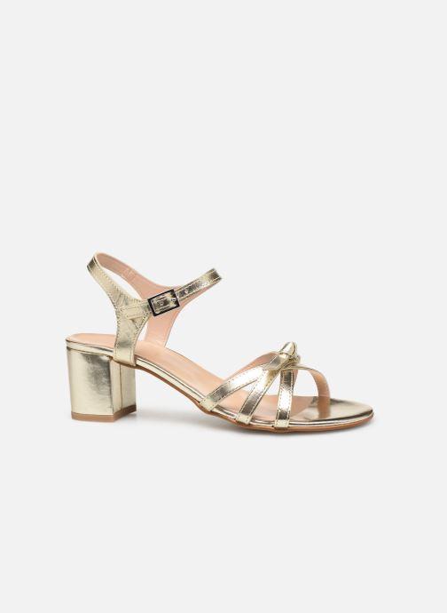 Sandales et nu-pieds Georgia Rose Linedia Or et bronze vue derrière