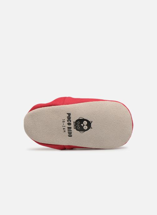 Slippers Poco Nido Clown Nose Red view from above