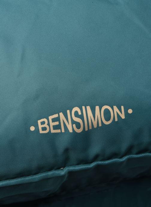 Sacs à dos Bensimon BACKPACK COLOR LINE Bleu vue gauche
