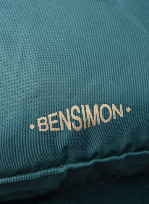 Sacs à dos Bensimon BACKPACK COLOR LINE Bleu vue gauche