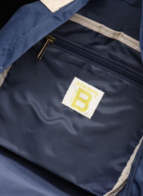 Rucksäcke Bensimon BACKPACK COLOR LINE blau ansicht von hinten