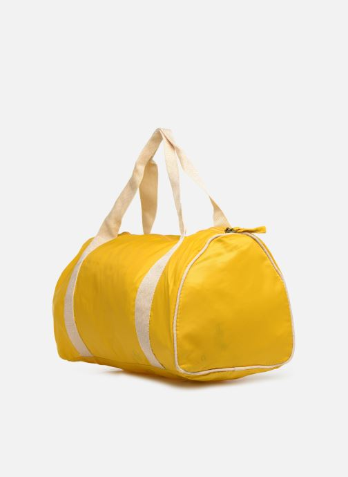 Sports bags Bensimon COLORBAG COLORLINE Yellow view from the right