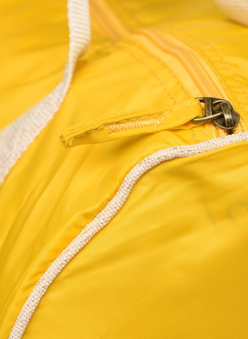 Sports bags Bensimon COLORBAG COLORLINE Yellow view from the left