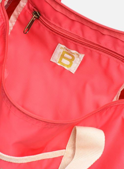 Sporttaschen Bensimon COLORBAG COLORLINE rosa ansicht von hinten