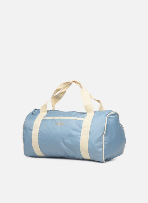 Sacs de sport Bensimon COLORBAG COLORLINE Bleu vue portées chaussures