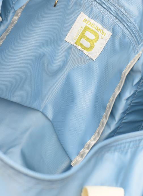 Sporttassen Bensimon COLORBAG COLORLINE Blauw achterkant