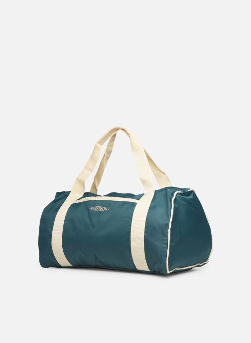 Sporttaschen Bensimon COLORBAG COLORLINE blau schuhe getragen
