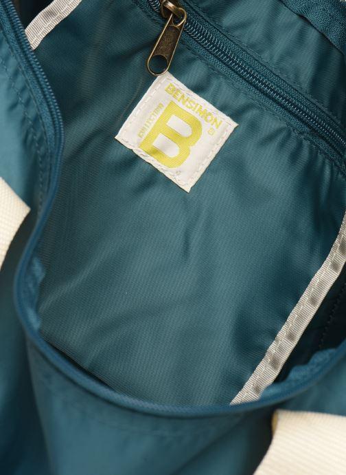 Sporttaschen Bensimon COLORBAG COLORLINE blau ansicht von hinten