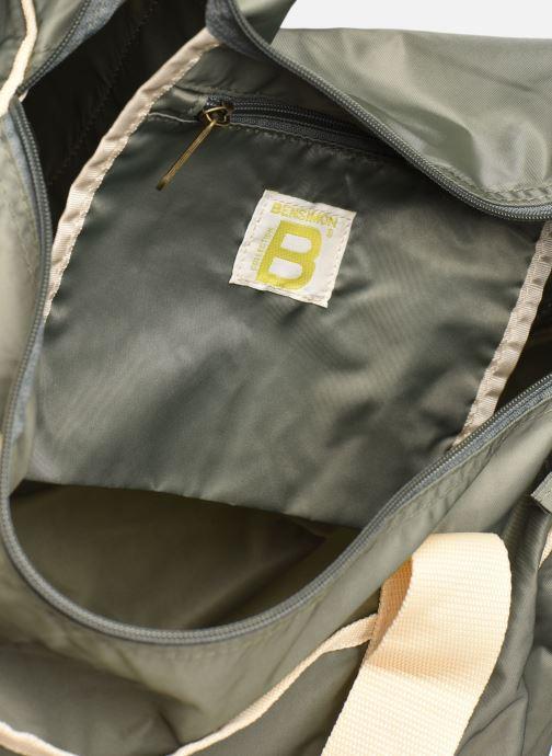 Sporttaschen Bensimon COLORBAG COLORLINE grün ansicht von hinten
