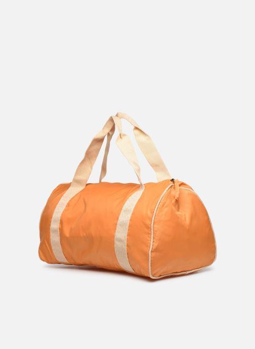 Sacs de sport Bensimon COLORBAG COLORLINE Orange vue droite