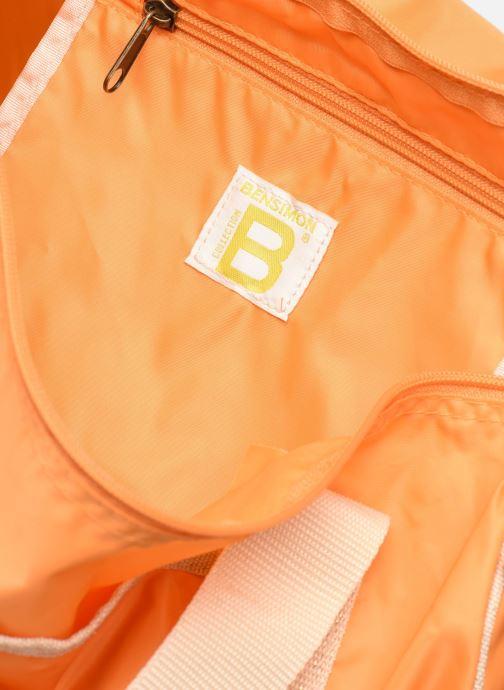 Sacs de sport Bensimon COLORBAG COLORLINE Orange vue derrière