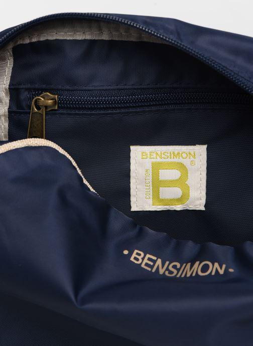 Sacs à main Bensimon SMALL BESACE COLOR LINE Bleu vue derrière