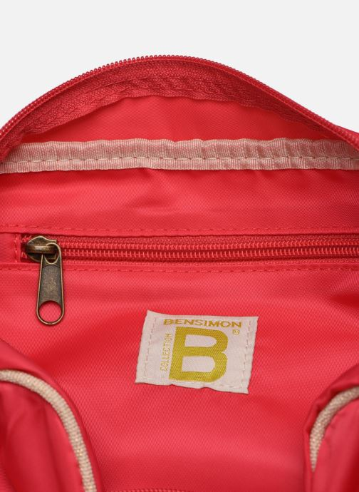Handtassen Bensimon SMALL BESACE COLOR LINE Roze achterkant