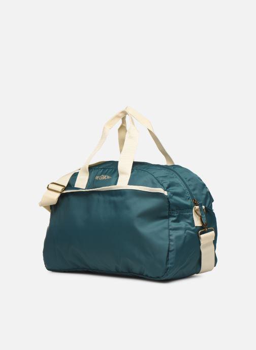 Bolsas de deporte Bensimon SPORT BAG COLOR LINE Verde vista del modelo